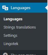 Hướng dẫn làm website đa ngôn ngữ với Polylang