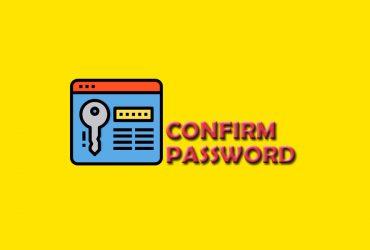 Hướng dẫn thêm Confirm Password trong Registration Page và Checkout Page