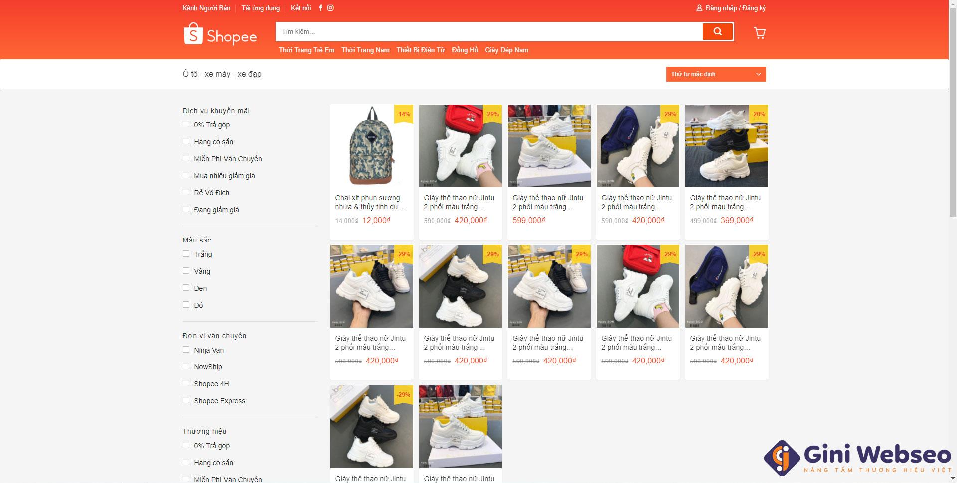 Thiết kế website bán hàng Hải Phòng